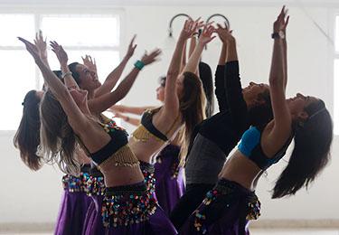 clases danza árabe 1